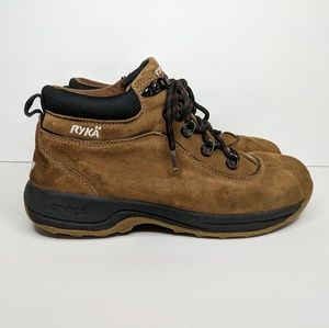 Ryka Women's Brown Lace Up Boots 8.5